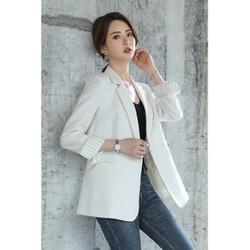 [Areum_Vest] - Áo vest Blazer nữ luxury cao cấp HU21
