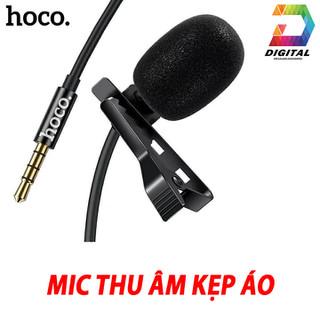 Microphone Mini Hoco Di02 Kẹp Áo Chính Hãng Có Màng Lọc Tạp Âm - Mic Hoco Di02 thumbnail