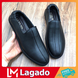 Giày lười nam P3 da cao cấp thiết kế phong cách thời trang Hàn Quốc - Giày tây nam sang trọng, lịch lãm