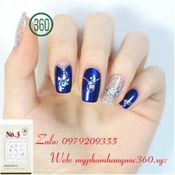 Sticker Tạo Kiểu Trang Trí Móng - Self nail sticker - jewel 3