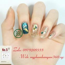 Sticker Tạo Kiểu Trang Trí Móng - Self nail sticker - jewel 5