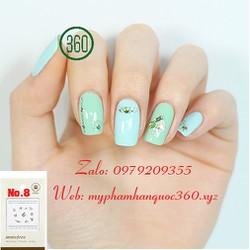 Sticker Tạo Kiểu Trang Trí Móng - Self nail sticker - jewel 8