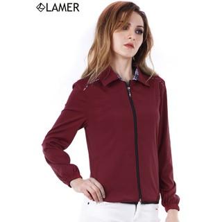 Áo gió nữ 2 lớp chun dãn nhẹ LAMER L65I16T002 (ĐỎ TÍM HỒNG) - 724267961 thumbnail