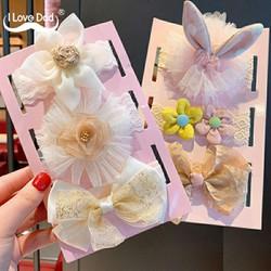 Set 3 Băng đô hoa xinh xắn cho Công Chúa BHBD5 - Trang sức Bé Heo