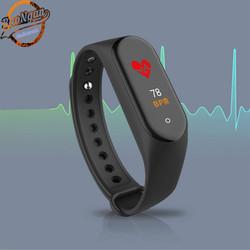 Đồng hồ thông minh đeo tay M6 chống nước IP68 hỗ trợ gọi Bluetooth/ nghe nhạc/ hỗ trợ sức khỏe/ đếm số bước chân