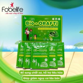 Cốm ăn bổ sung chất xơ, nhuận tràng, hỗ trợ tăng cường tiêu hóa- Bio Orafti - 20 gói hộp - Bio20g thumbnail