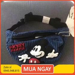 Túi bao tử Mickey Z.A.R.A dành cho bé trai bé gái túi xách trẻ em xuất dư cực đẹp cực xịn