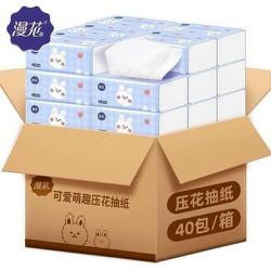 Thùng 40 gói giấy ăn siêu dai