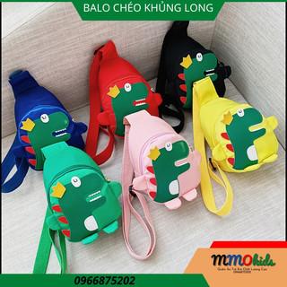 Balo Cho Bé Mầm Non Hình Khung Long Màu Sắc Tươi Sáng Trẻ Em Yêu Thích Đi Học Đi Chơi - BLMN123 thumbnail