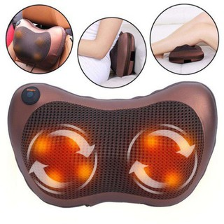 Gối massage hồng ngoại 8 bi mát xa cao cấp Nhật Bản - 5345353455 thumbnail