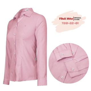 Áo sơ mi nữ dài tay Thái Hòa 720 - 720 thumbnail