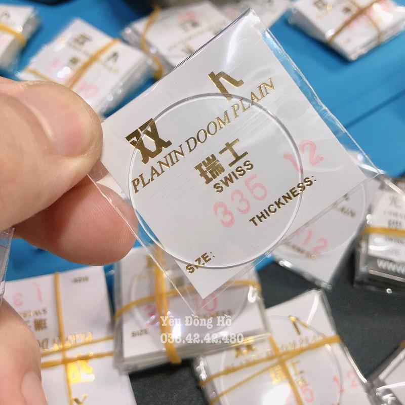 Kính đồng hồ Cong tráng sapphire loại tốt dày 1.2mm - KC1.2 2