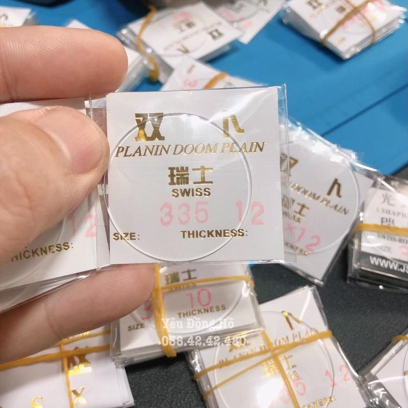 Kính đồng hồ Cong tráng sapphire loại tốt dày 1.2mm - KC1.2 1