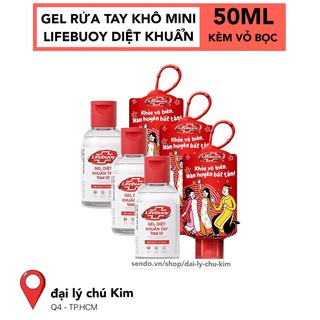 Gel rửa tay khô LIFEBUOY mini Bảo Vệ Vượt Trội 50ML - 4077_44500297 thumbnail