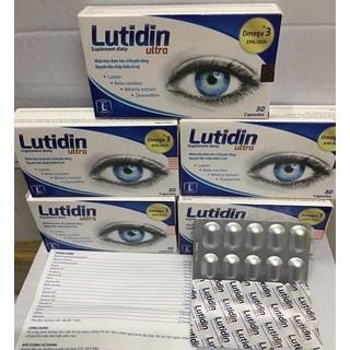 Lutidin Ultra - Bổ sung dinh dưỡng cho mắt (10 viên vỉ x 3 vỉ hộp) - 1306802431 thumbnail