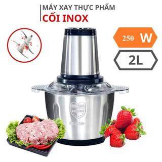Máy xay thịt đa năng cầm tay dung tích 2 lít công suất lớn cối inox 304 cao cấp - 0861 thumbnail