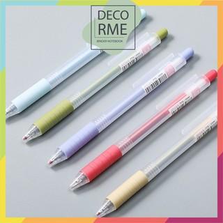 Bút gel bấm pastel JY DecorMe - 9813899540 thumbnail