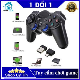 Tay Cầm Chơi Game Không Dây Cho PC Xbox360 Android TV Smartphone Laptop 850M - cổng OTG Type-C (Micro USB) - Tay Cầm Game PC (K) thumbnail
