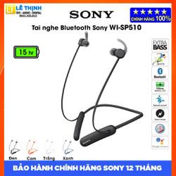 Tai nghe Bluetooth Sony Extra Bass WI-SP510 - Hãng phân phối - Bảo hành chính hãng Sony 12 tháng toàn quốc