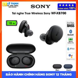 Tai nghe Bluetooth Sony Extra Bass WF-XB700 - Hãng phân phối - Bảo hành chính hãng Sony 12 tháng toàn quốc