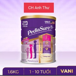 [Date T3/2023] Sữa Bột Pediasure B/A Hương Vani 1.6kg - Chính Hãng