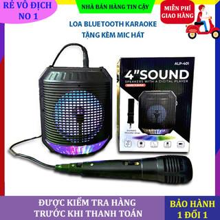 Loa bluetooth karaoke kèm mic hát loa karaoke kèm mic hát công suất 500 W - Loa karaoke ALP 401 thumbnail