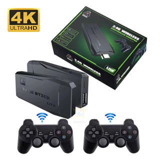 Máy chơi gamer 4 nút PS3000 4K Ultra Hd Game Stick + Trò Chơi, Máy Chơi Game Cổ Điển ATARI PS1 FC GBA SFC - Game Stick 4K thumbnail