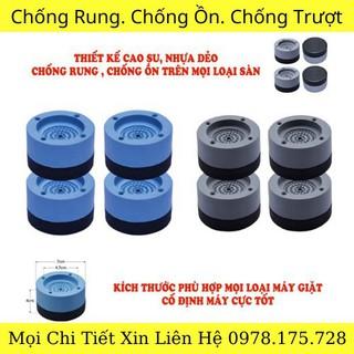 Chân Máy Giặt 4 Mi-ng Chống Rung- Chống Ồn - 9025835300 thumbnail