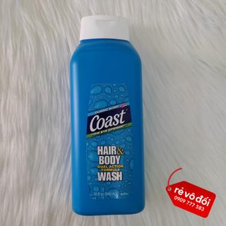[ Mẫu mới ] Sữa tắm gội toàn thân sạch khuẩn Coast Hair Body Wash 2in1 chai 946ml - Mỹ - ST Coast 946ml thumbnail