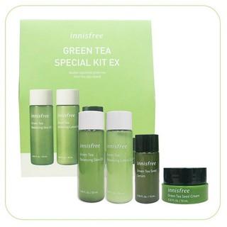 (CHÍNH HÃNG) BỘ DƯỠNG DA MINI INNIS-FREE GREEN TEA SPECIAL KIT EX TRÀ XANH 4 MÓN MẪU MỚI - BDIN02 thumbnail