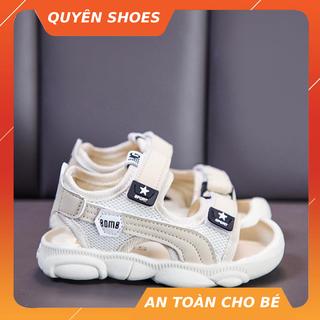 Sandal Bé Trai và bé gái,Giày sandal Quai Hậu Mũi Cao Chống Trơn Chống Vấp Cho Bé LUCKY SHOES VN - sandal1B thumbnail