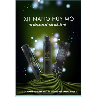 Xịt Tan mỡ CẤP TỐC Nano JPlus- công nghệ Hàn Quốc - jplus thumbnail