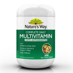 Vitamin Tổng Hợp Multivitamin Nature's way 200v