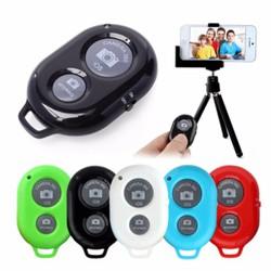 100 Remote chụp ảnh cho điện thoại Bluetooth  tter Màu Đen