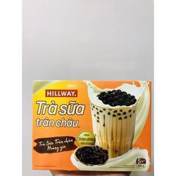 Trà sữa trân châu Hillway hộp 5 set( 5 gói trà sữa và 5 gói trân châu)