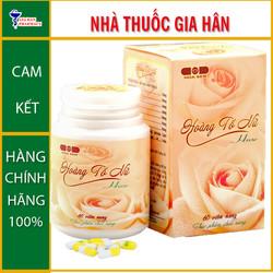 Viên uống HoàngTốNữ Hoa Sen - Giúp nâng cao sức khỏe phụ nữ - Gia Hân