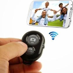 Remote chụp ảnh cho điện thoại Bluetooth  tter -Màu Đen-