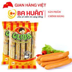 Xúc Xích Tiệt Trùng Oliba Bò 175g - Ba Huân (5 cây x 35g)