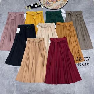Chân váy xếp ly xòe dáng dài kèm đai TV1915 - CVXDDTV1915 thumbnail