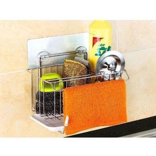 Giá để đồ rửa bát inox có khay hứng nước - Giá để đồ rửa bát inox có khay hứng nước thumbnail
