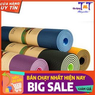 Thảm Tập Yoga Tập Gym Tập Thể Dục Tại Nhà chất liệu TPE Đài Loan Chống Trơn Trượt Êm Ái Khi Sử Dụng - GD0077 thumbnail