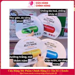 Combo Hộp 10 Túi Mặt nạ giấy - Mặt nạ dưỡng da BNBG Vita Genic Jelly Mask Hàn Quốc 30mlx10