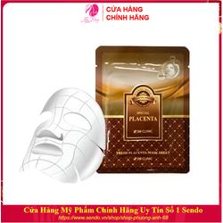 Mặt nạ dưỡng da - Mặt nạ giấy tinh chất nhau thai cừu 3W Clinic Hàn Quốc 23ml