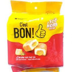 (New) Bánh sợi gà C Est Bon Orion Sốt kem Phô Mai 5 Bánh*20,3G