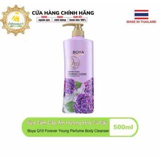 Sữa Tắm Cấp Ẩm Hương Hoa Cẩm Tú Cầu Boya Q10 Forever Young Perfume Body Cleanser 500ml - SUATAM_BOYAQ10_TUCAU thumbnail