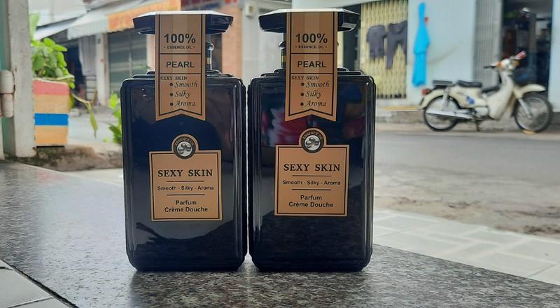 Sữa tắm nước hoa Pháp Sexy_Skin Màu đen PEARL - sữa tắm sexy skin đen 3