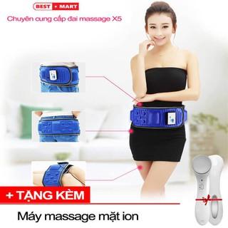 [ FLASH SALE ] Đai massage đánh tan mỡ bụng, đai massage giảm béo X5 - Sunny House - DMXX524 thumbnail