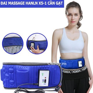 [Đổi trả 7 ngày] Đai Massage Bụng X5 - Tan mỡ,giảm béo, 2 Chế Độ[ có bảo hành ] - DMXX523 thumbnail