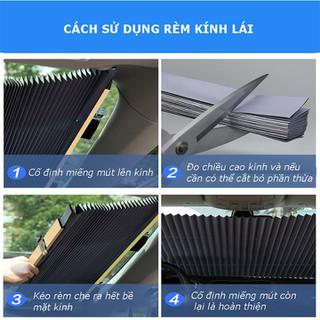 Rèm Che Nắng, Rèm Kính Lái Ô Tô, Xe Hơi COCA.T - TCKCNOT14 thumbnail