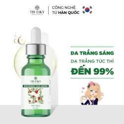 Serum dưỡng trắng da mặt Truesky giúp làm trắng da mặt, dưỡng ẩm và chống lão hoá 15ml - Whitening Face Serum